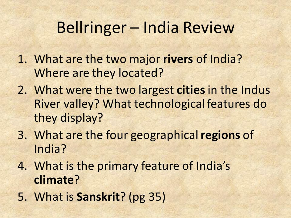 Bellringer – India Review