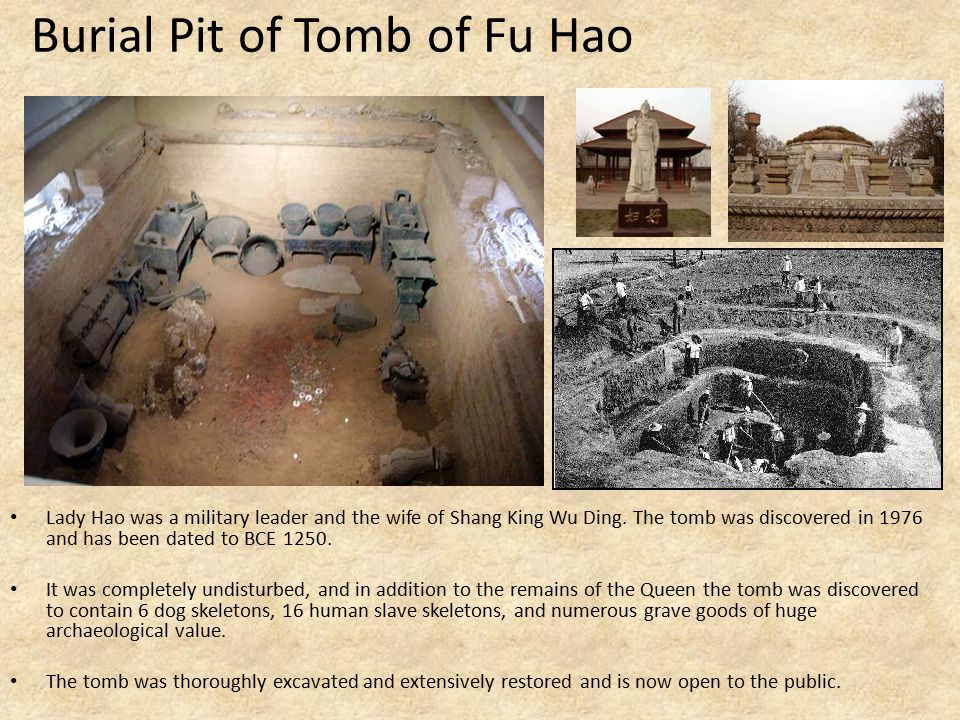 Burial Pit of Tomb of Fu Hao