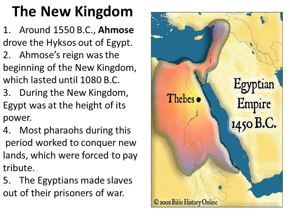 The New Kingdom Around 1550 B.C., Ahmose