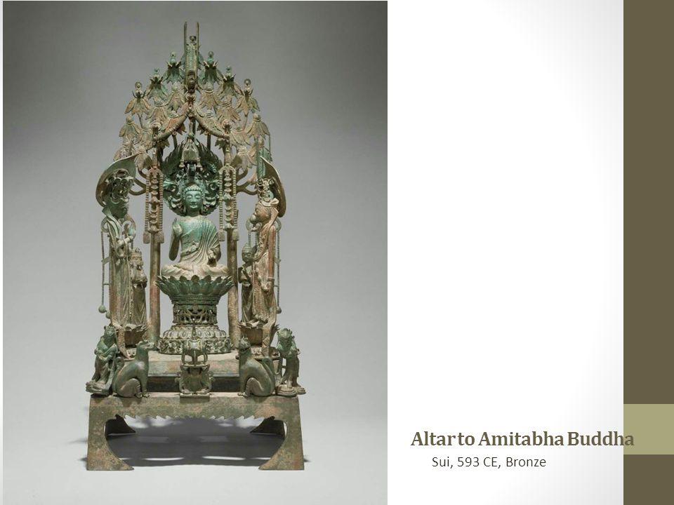 Altar to Amitabha Buddha