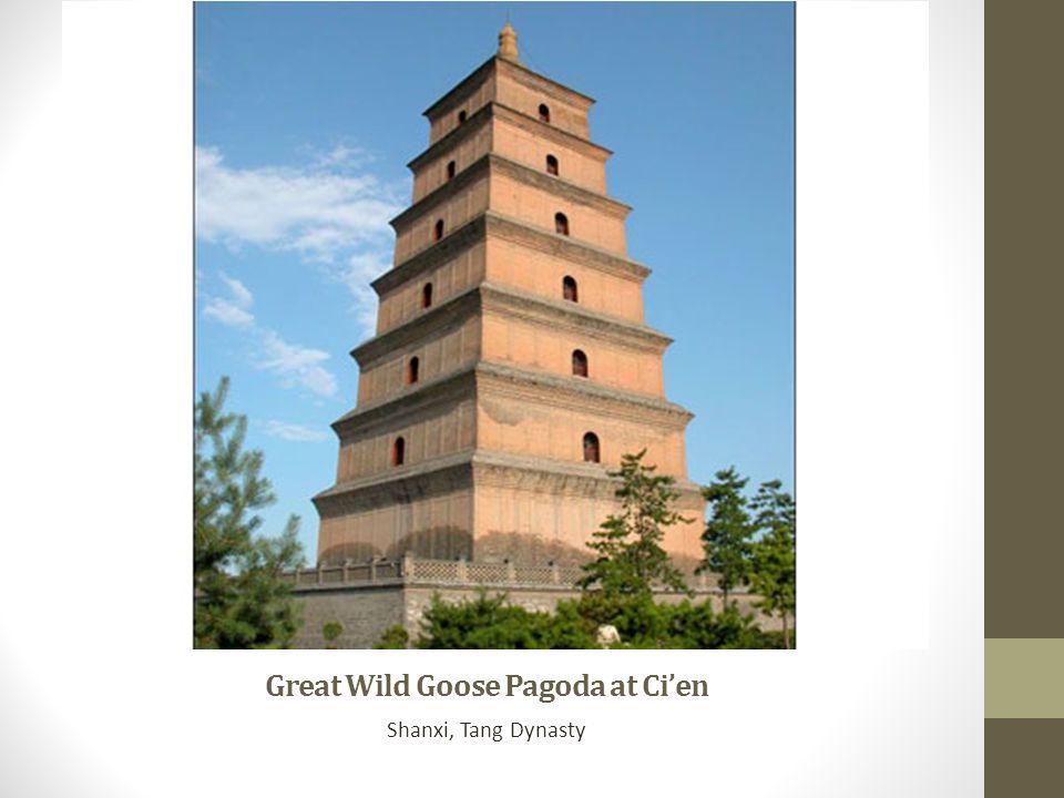 Great Wild Goose Pagoda at Ci'en