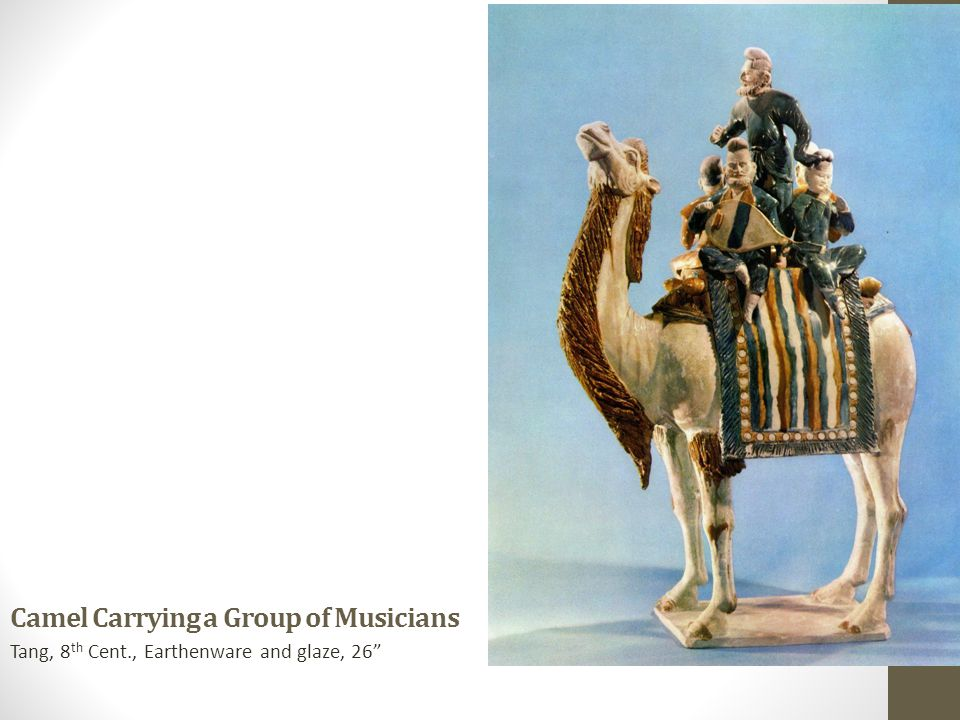 Camel Carrying a Group of Musicians