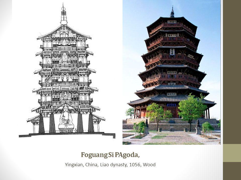 Yingxian, China, Liao dynasty, 1056, Wood