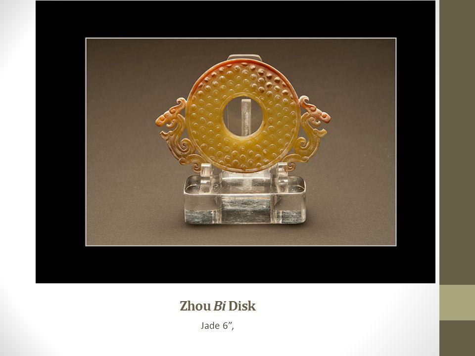 Zhou Bi Disk Jade 6 ,