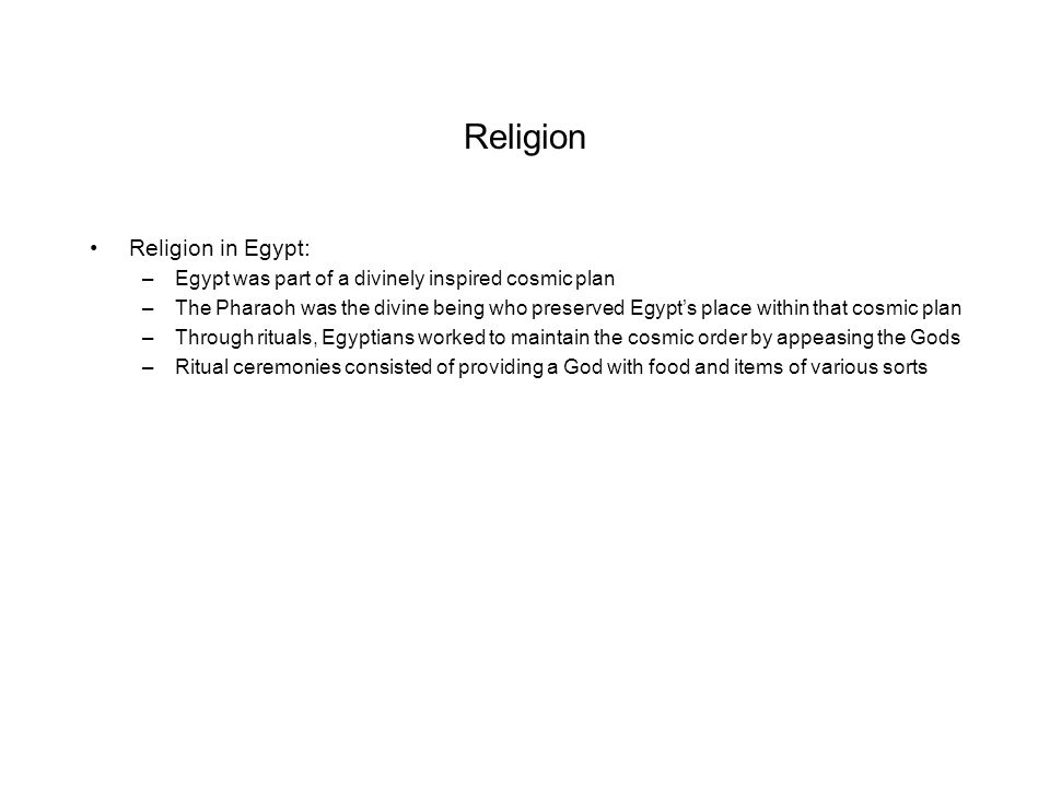 Religion Religion in Egypt: