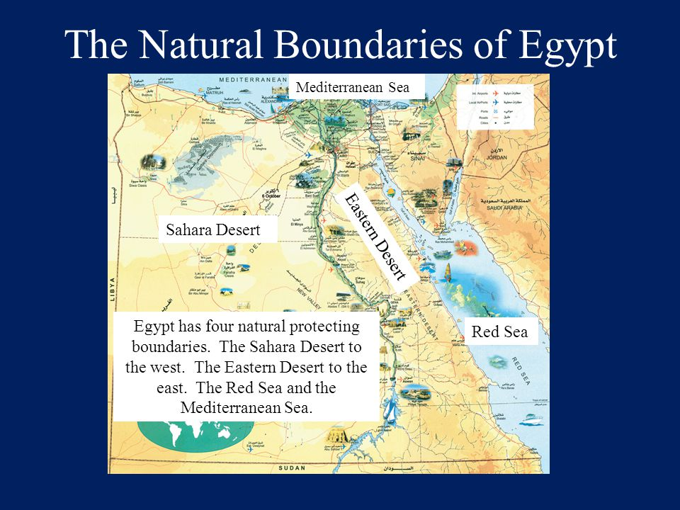 The Natural Boundaries of Egypt