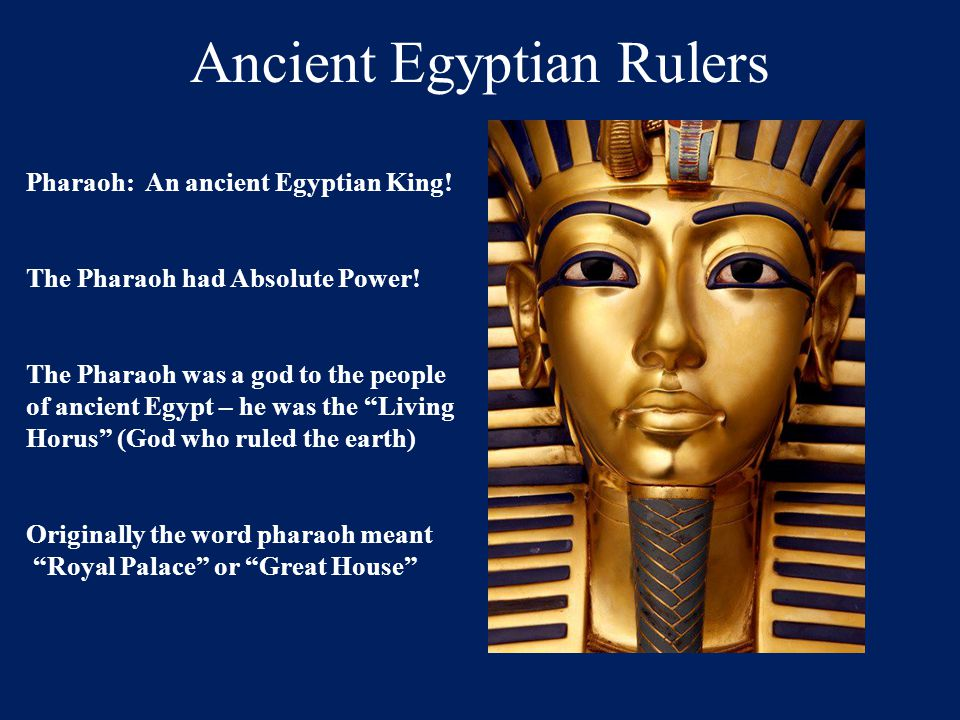 Ancient Egyptian Rulers