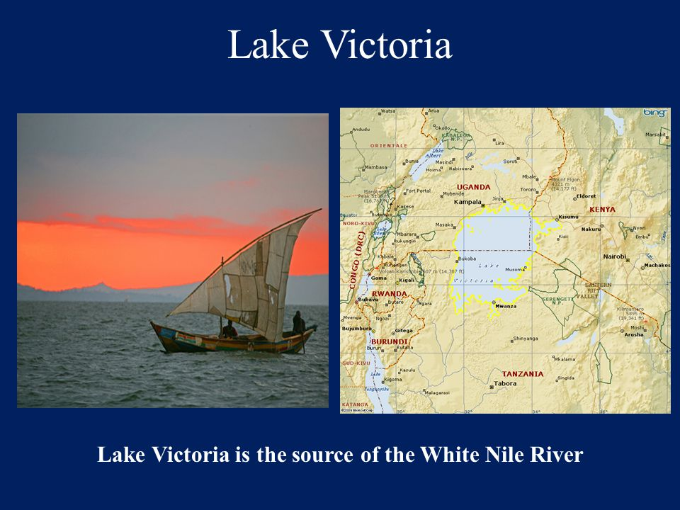 Lake Victoria is the source of the White Nile River