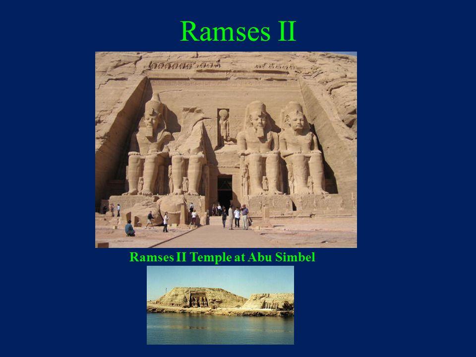 Ramses II Temple at Abu Simbel