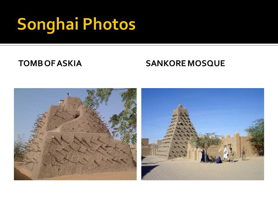 Songhai Photos Tomb of Askia Sankore Mosque