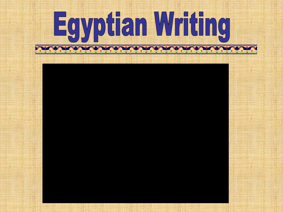 Egyptian Writing Cracking the Code – 5:48 – Re-enacts Champollion as he breaks the code for Egyptian hieroglyphics.