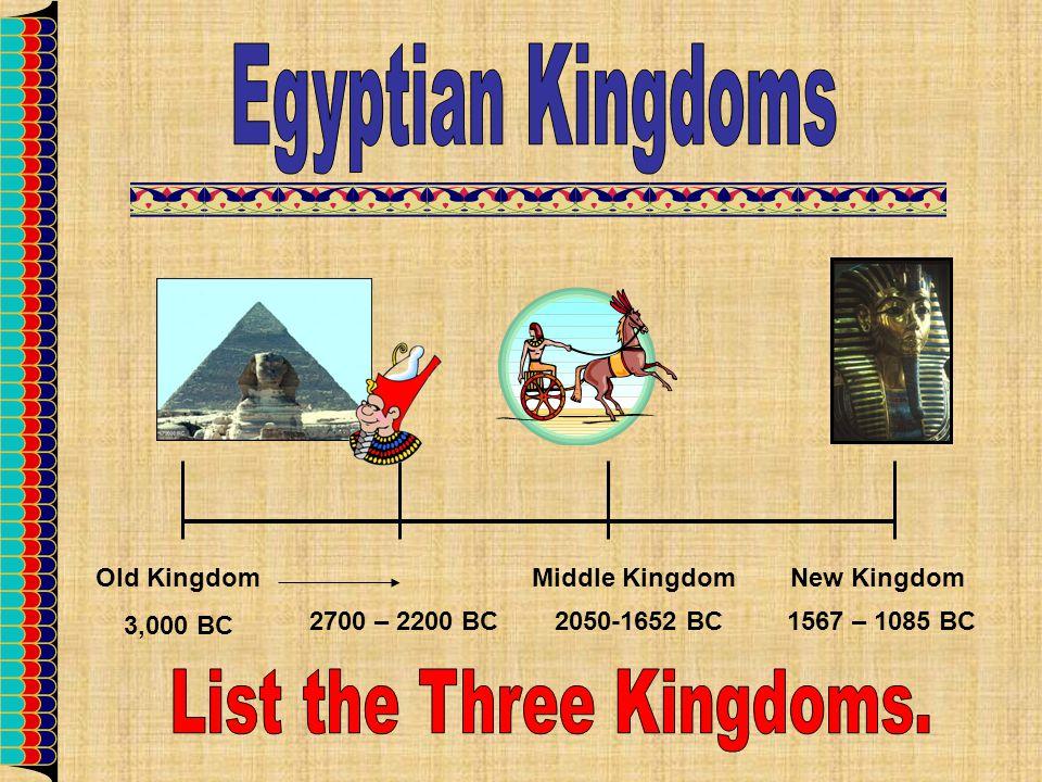 List the Three Kingdoms.