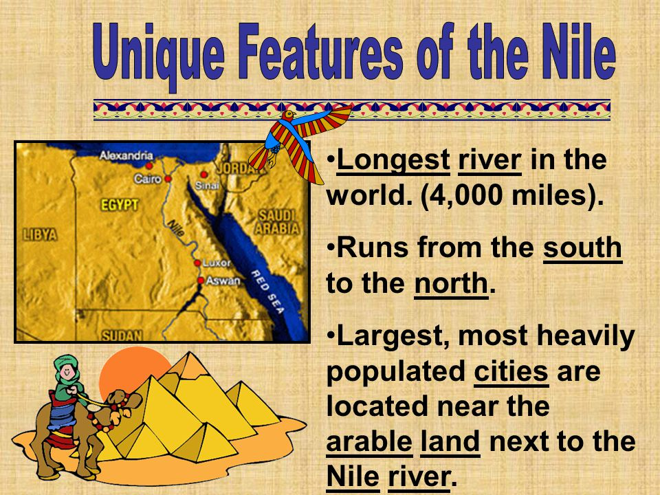 Unique Features of the Nile