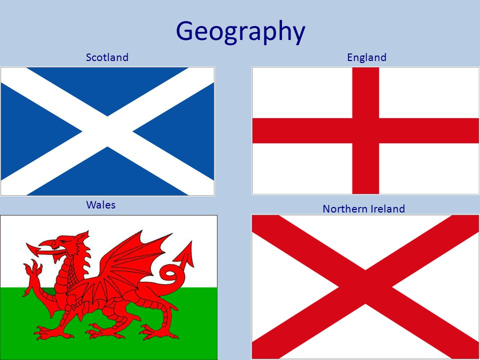 Geography Scotland England Wales Northern Ireland