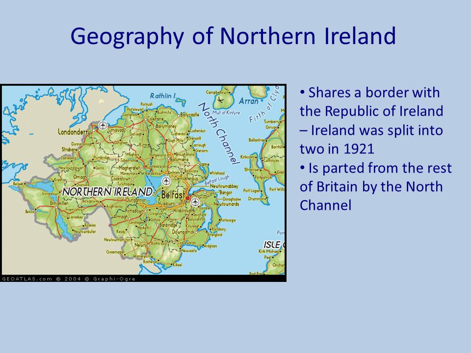 Geography of Northern Ireland
