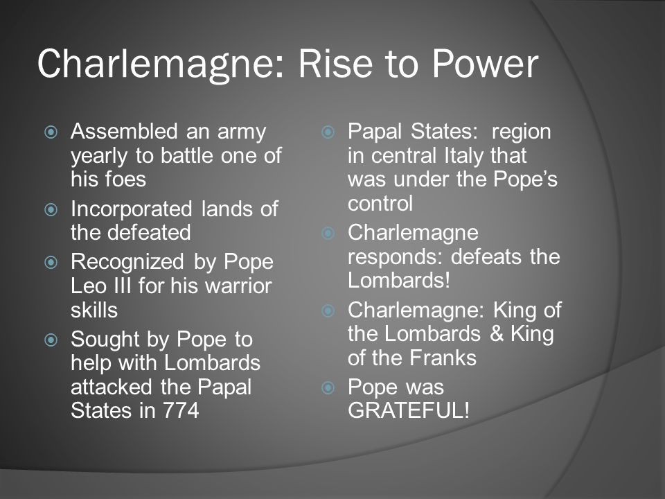 Charlemagne: Rise to Power