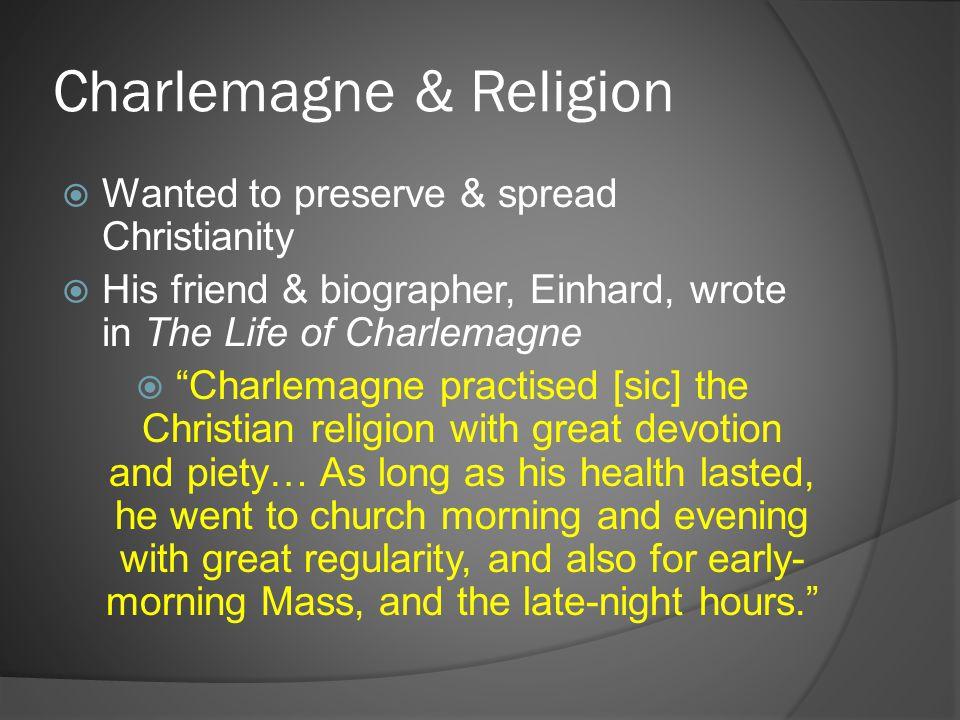 Charlemagne & Religion