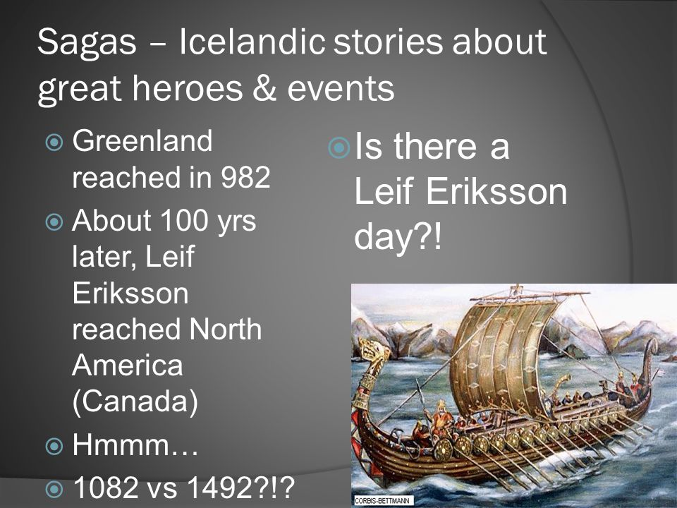 Sagas – Icelandic stories about great heroes & events