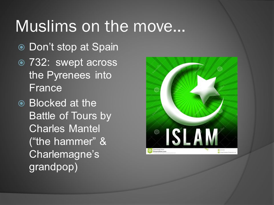 Muslims on the move… Don't stop at Spain