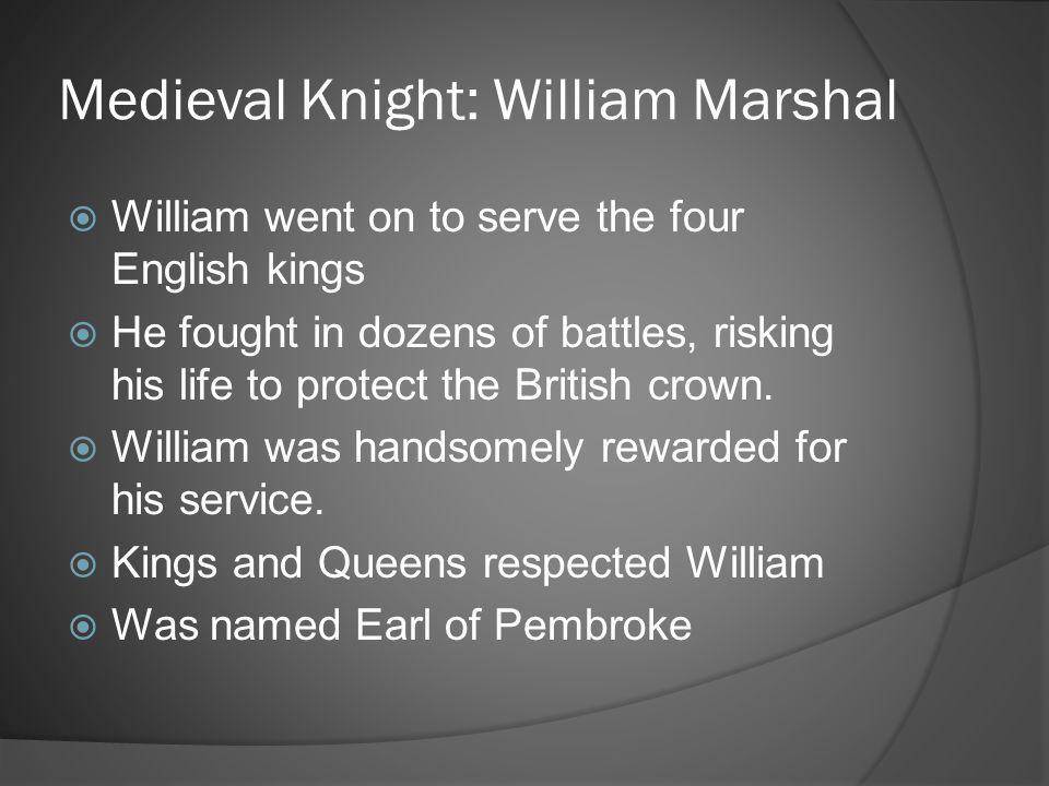Medieval Knight: William Marshal