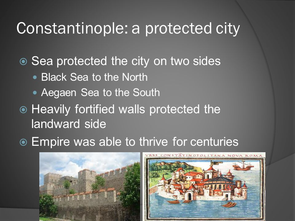 Constantinople: a protected city