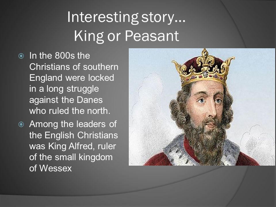 Interesting story… King or Peasant