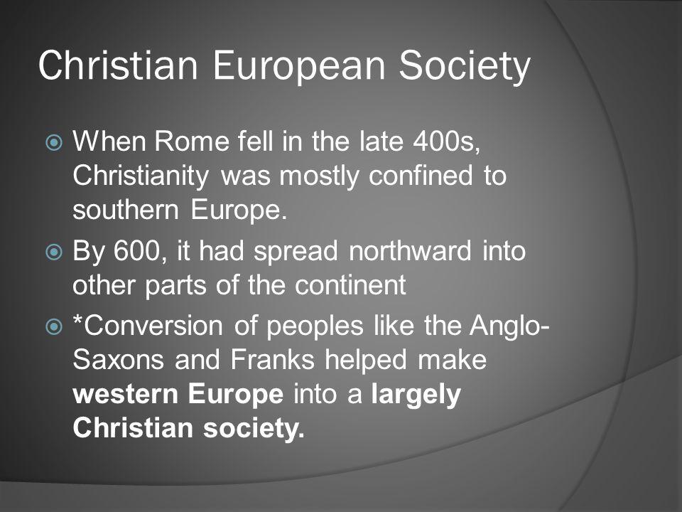 Christian European Society