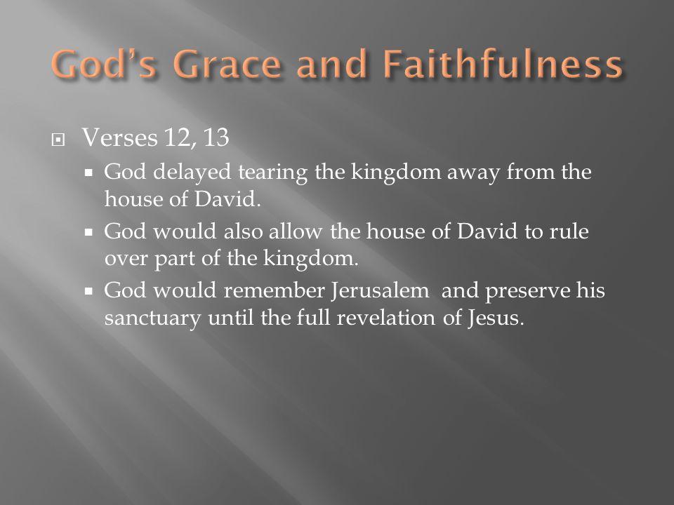God's Grace and Faithfulness