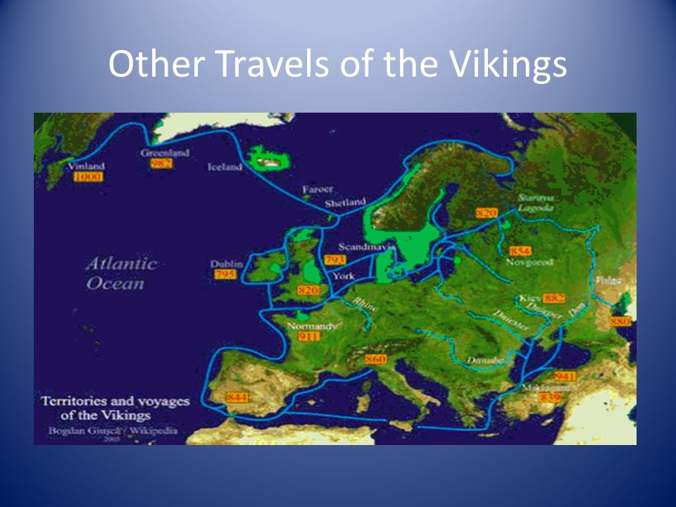 Other Travels of the Vikings