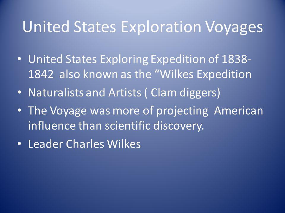 United States Exploration Voyages
