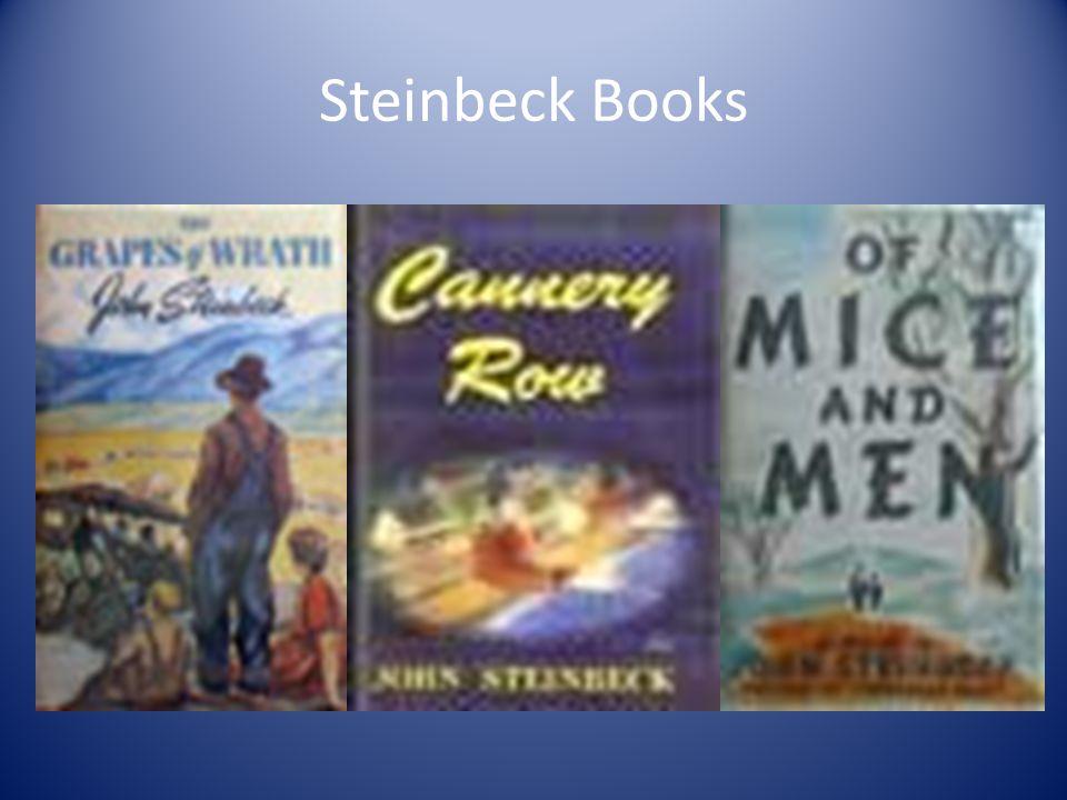 Steinbeck Books