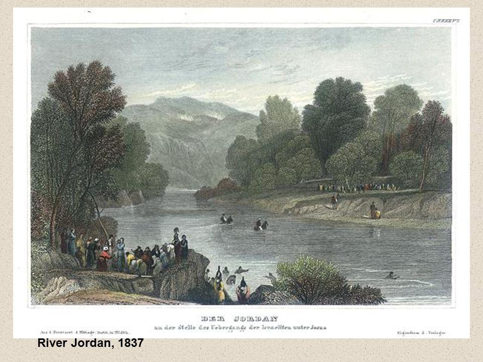River Jordan, 1837