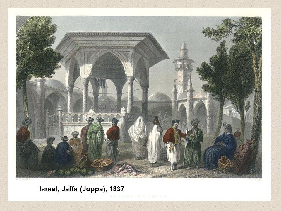 Israel, Jaffa (Joppa), 1837
