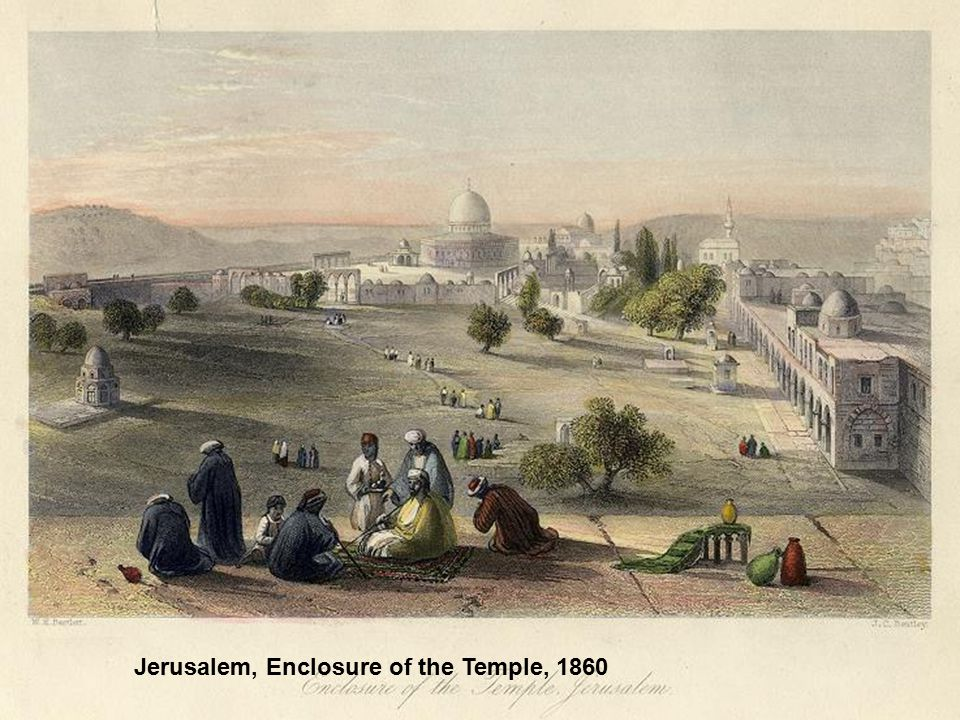 Jerusalem, Enclosure of the Temple, 1860