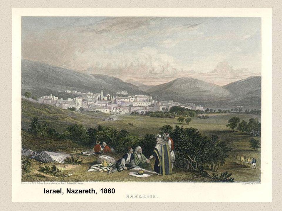 Israel, Nazareth, 1860