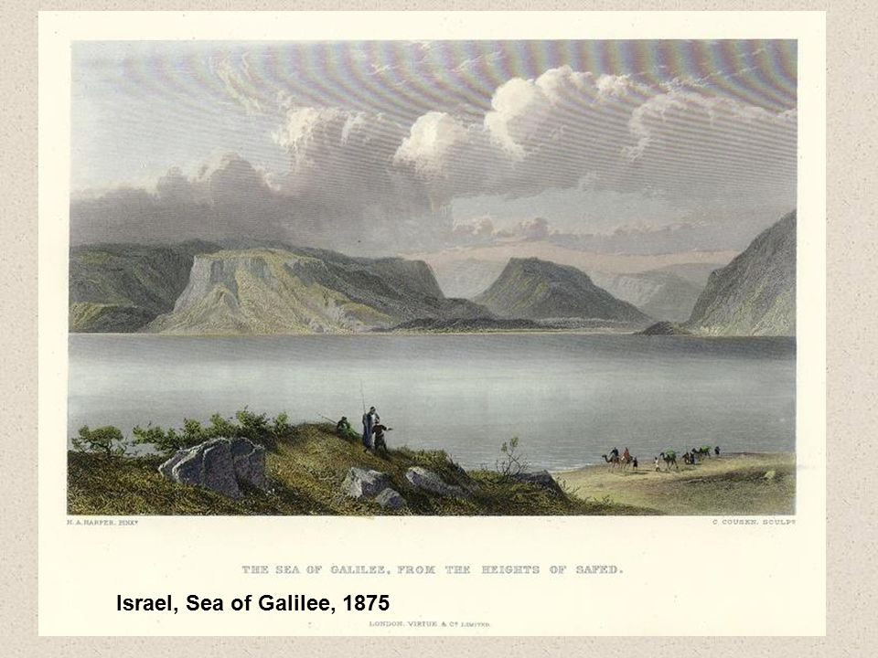 Israel, Sea of Galilee, 1875