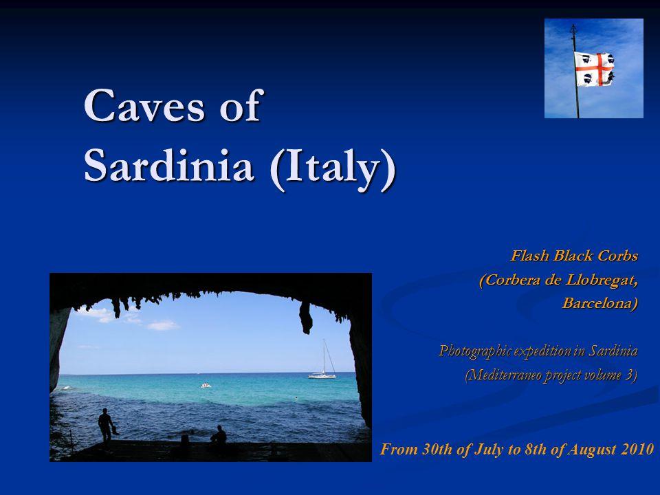 Caves of Sardinia (Italy)