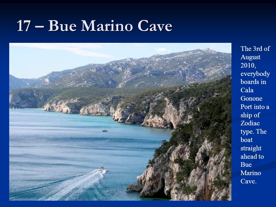 17 – Bue Marino Cave