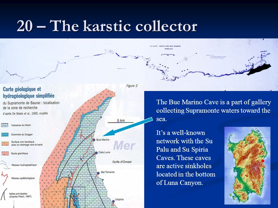20 – The karstic collector
