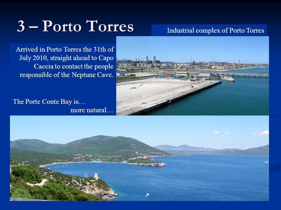 3 – Porto Torres Industrial complex of Porto Torres