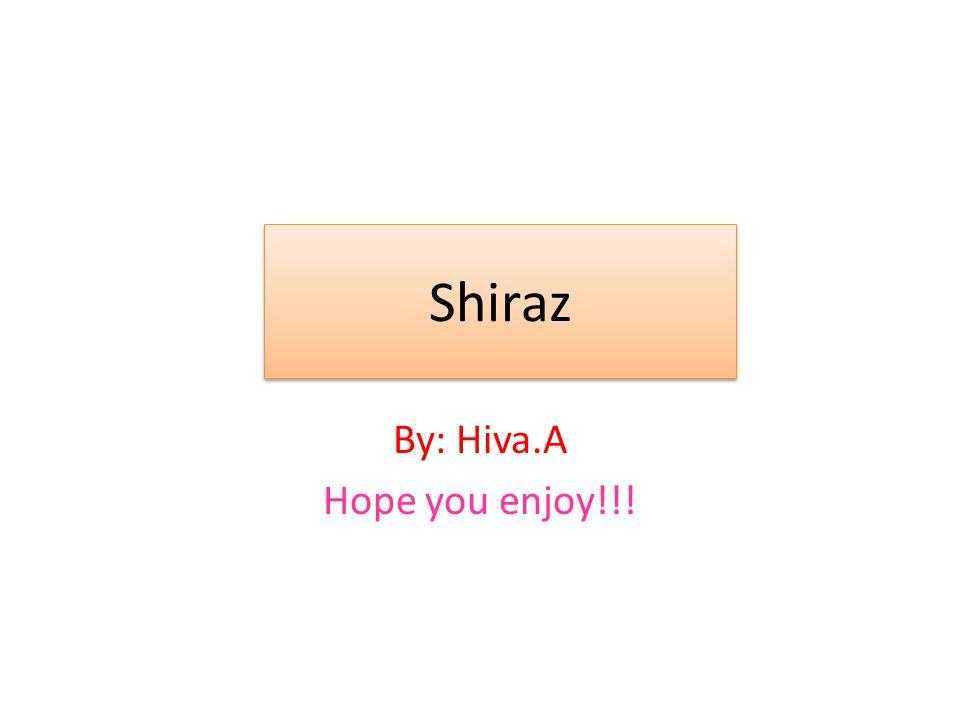 By: Hiva.A Hope you enjoy!!!