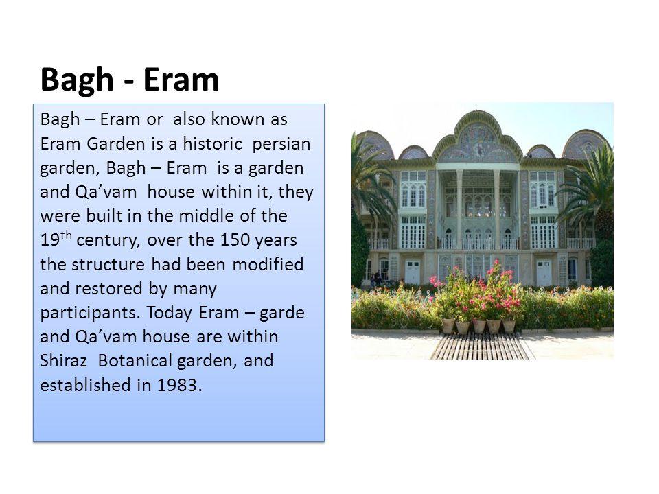 Bagh - Eram