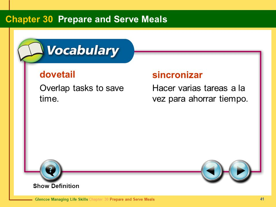 dovetail sincronizar Overlap tasks to save time.