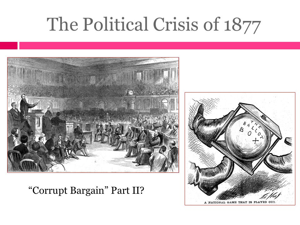 The Political Crisis of 1877