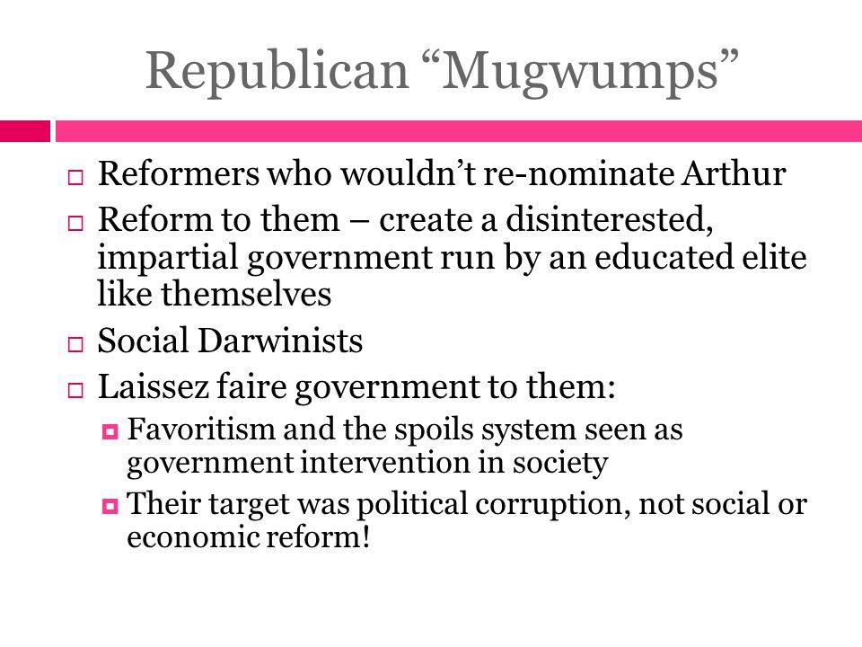 Republican Mugwumps