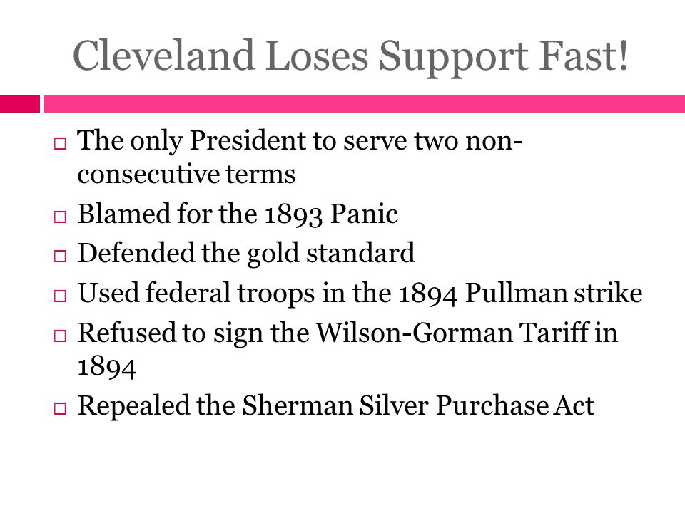 Cleveland Loses Support Fast!