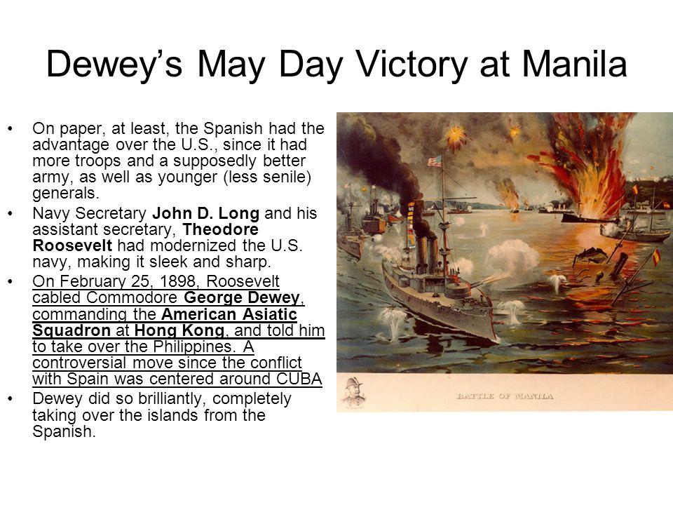 Dewey's May Day Victory at Manila