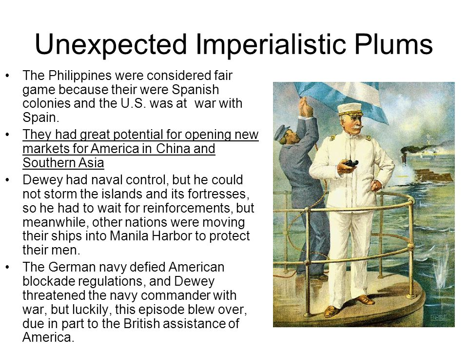 Unexpected Imperialistic Plums