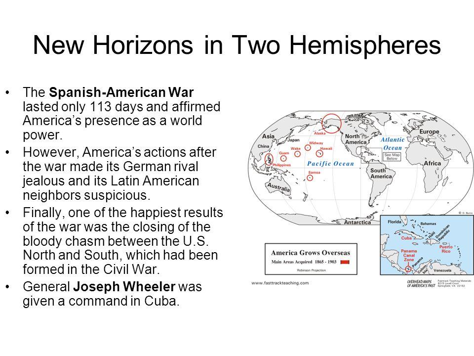 New Horizons in Two Hemispheres