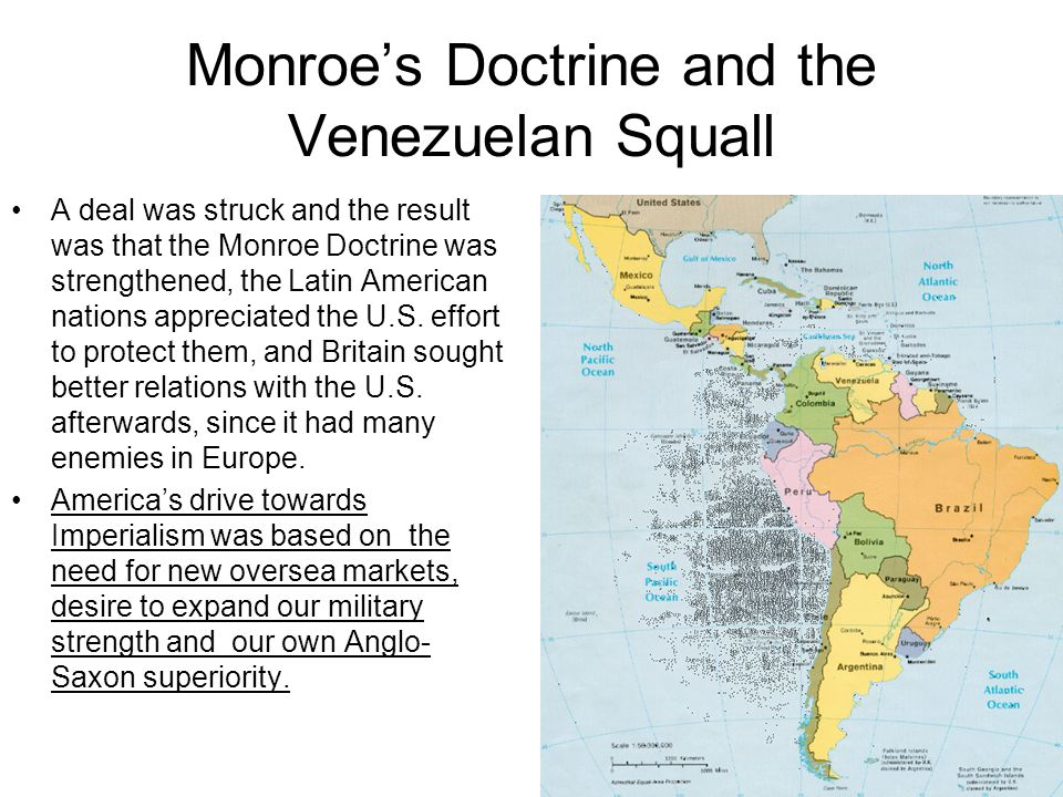 Monroe's Doctrine and the Venezuelan Squall